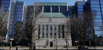 Bank of Canada Should Hold Overnight Rate at 1.75 Percent through January, Hike to 2.25 in a Year's Time